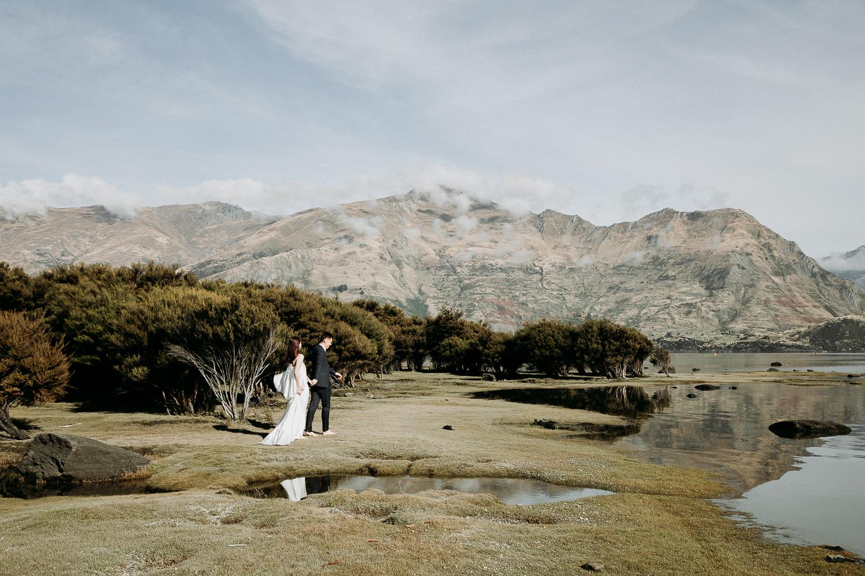 Cheryl + Harvard - Explore The Land - The Classic // Lake Wanaka