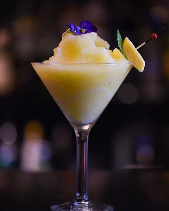 Happy Tuesday everyone!  Come up to Adore and try one of our mango daiquiri's. They are absolutely delicious 🤤  Open Tuesday-Saturday 👏#food#wine#sharing#cocktails#alburywodonga#whatsbehindthepinkdoor
