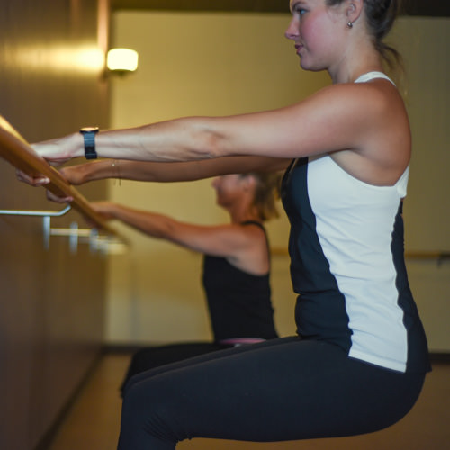 Yoga Barre - This energetic, vinyasa yoga based class seamlessly incorporates the lengthening, strengthening and toning principles of barre pilates into one harmonious class.