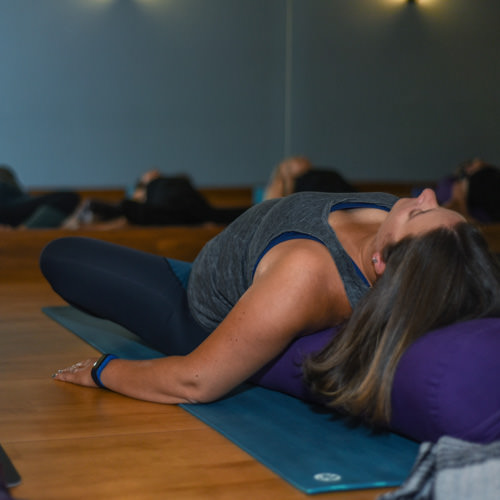 Yin Yoga - Yin Yoga has the same goals and objectives as any other school of yoga; however, it directs the stimulation beyond the muscular (