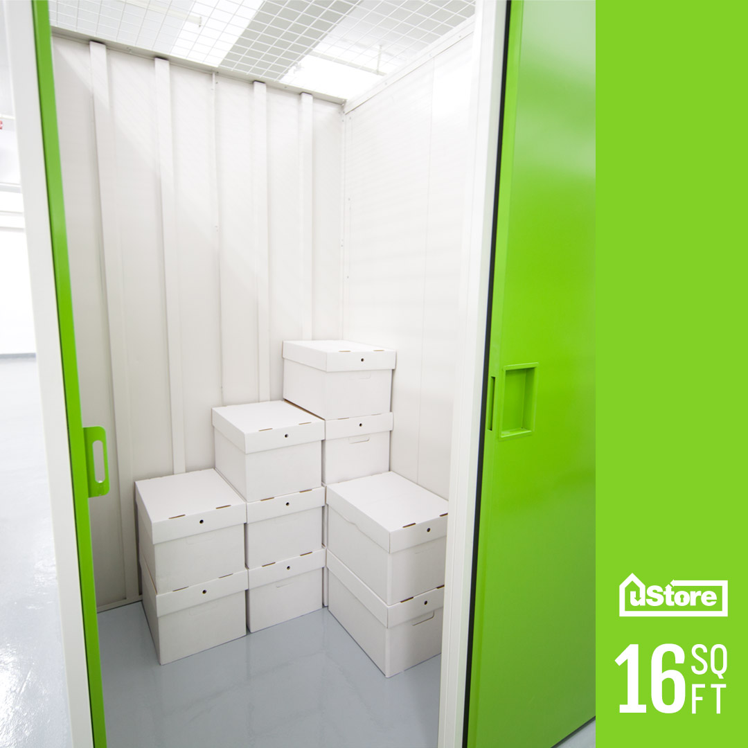 16 sq. ft. storage unit (Height: 7ft.)