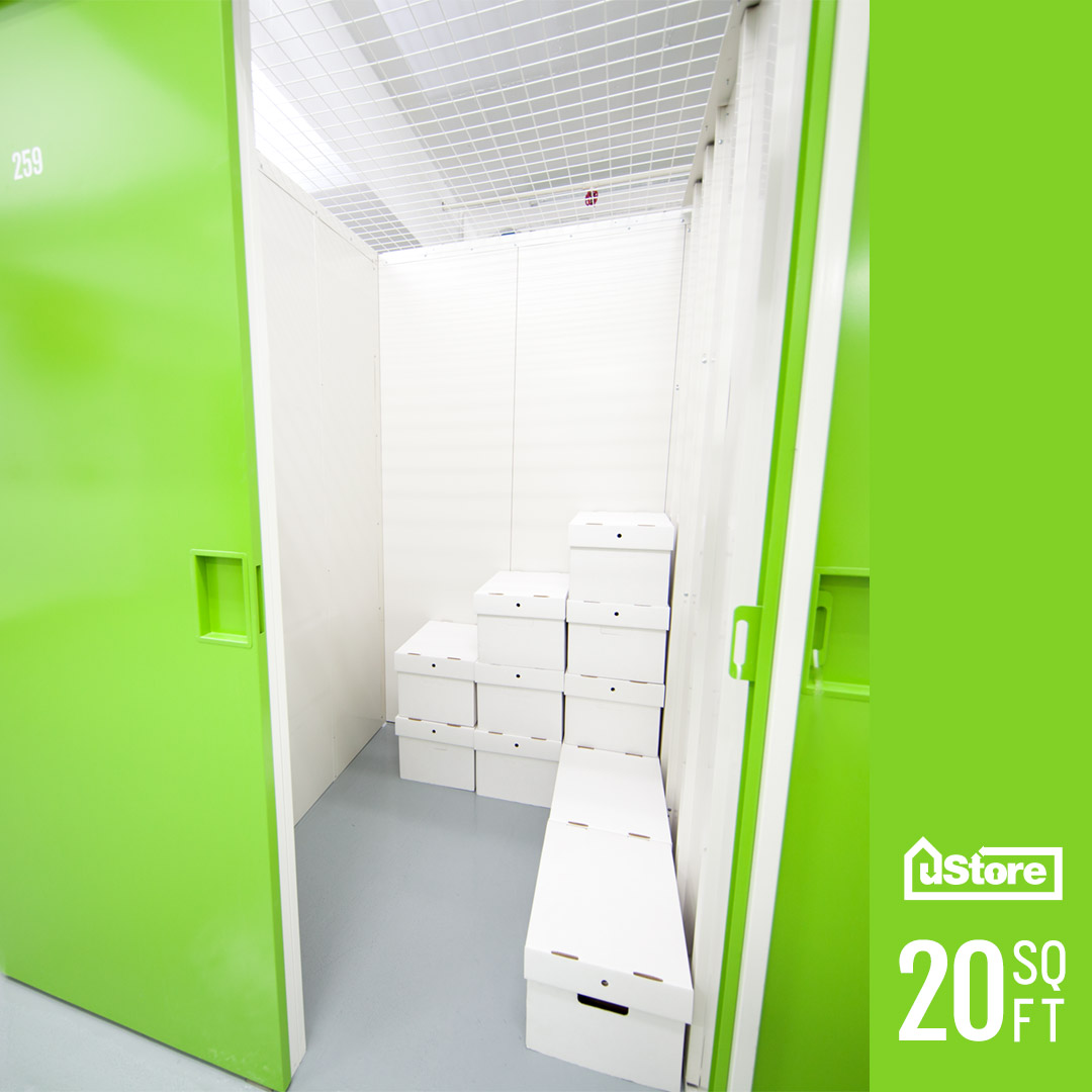 20 sq. ft. storage unit (Height: 7ft.)