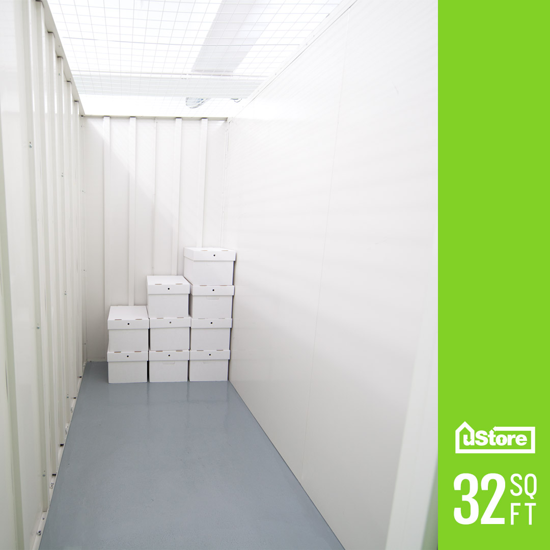 32 sq. ft. storage unit (Height: 7ft.)