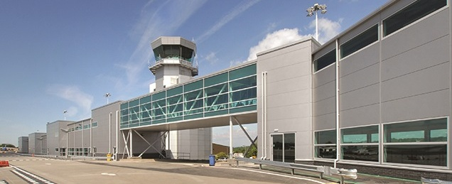 Bristol airport - Western Walkway (project carried out by engineer when @ Capita)