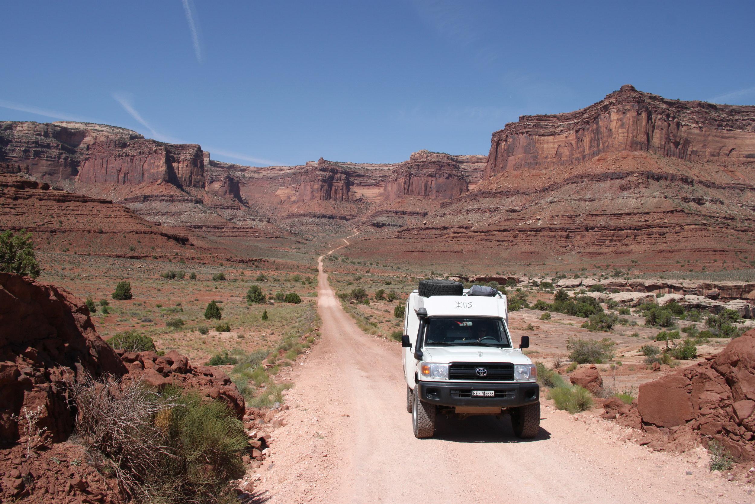 Canyonlands NP, USA.