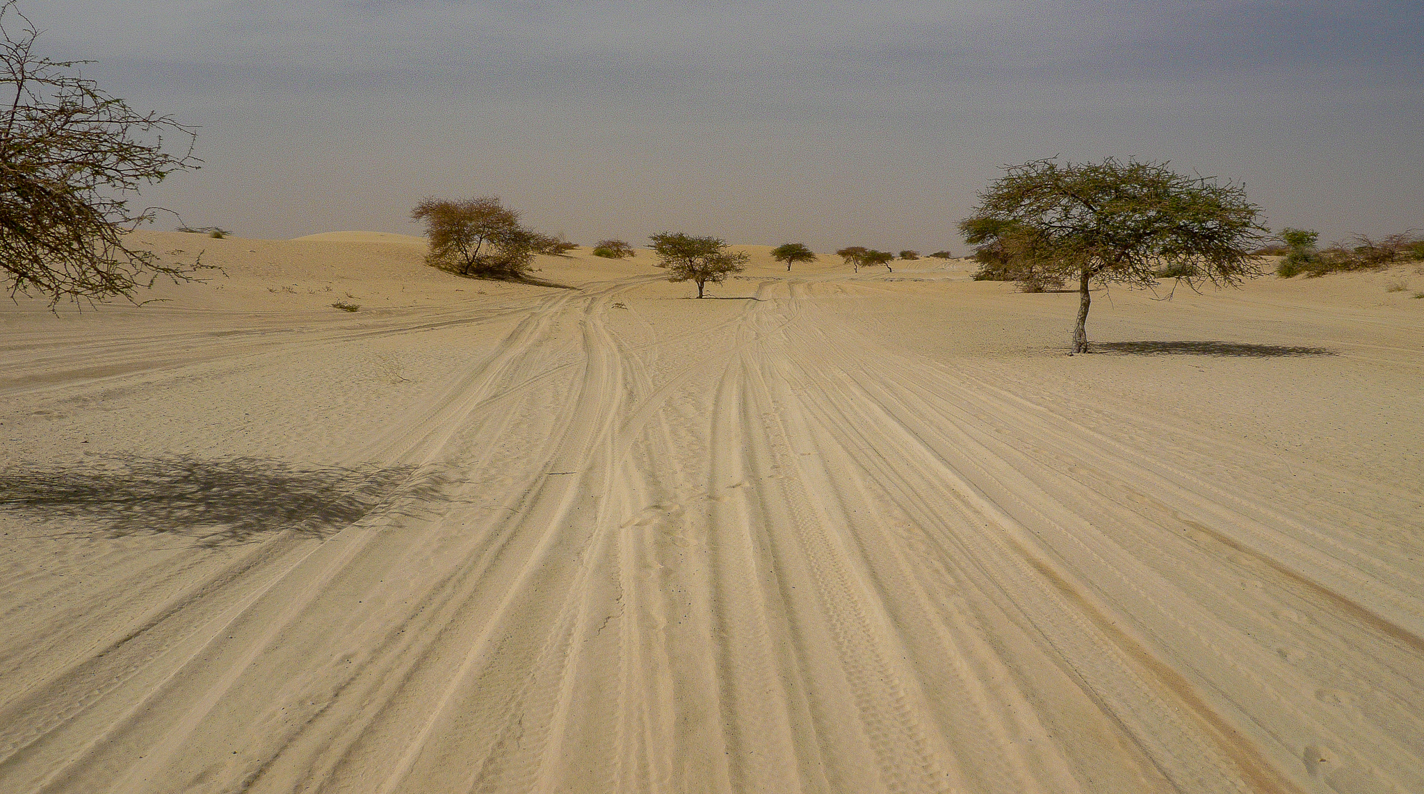 LEAVING TIMBUKTU BEHIND, WE HEADED EASTWARDS, FOLLOWING THE DESERT PISTE TO GAO. WE ONLY PASSED ONE VEHICLE ALL DAY.