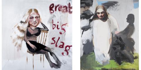 Geraldine Swayne, Self Portraits, Great Big Slag