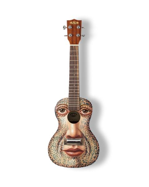 George Underwood's ukulele sold for £4800