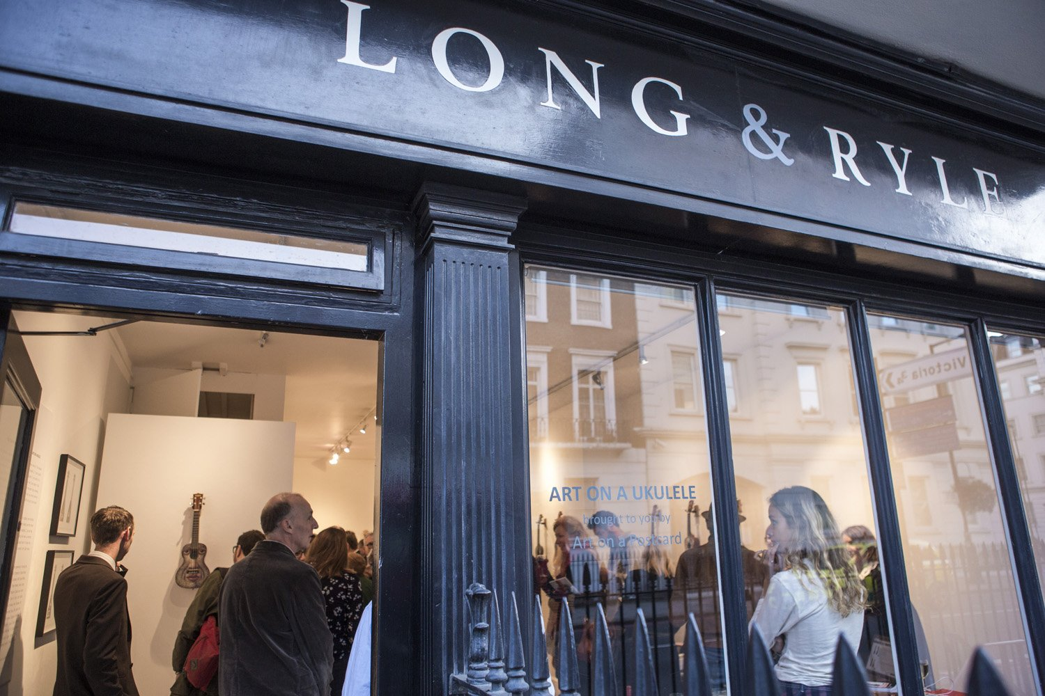 Long & Ryle opens for the Private View