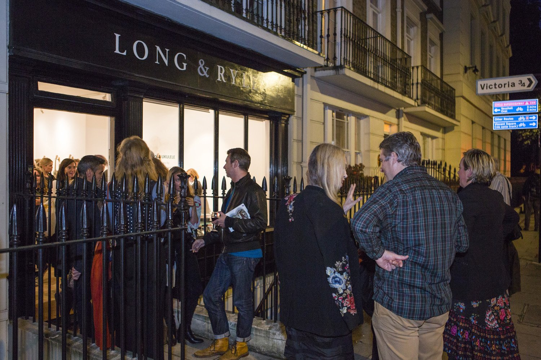 A busy Gallery in Pimlico