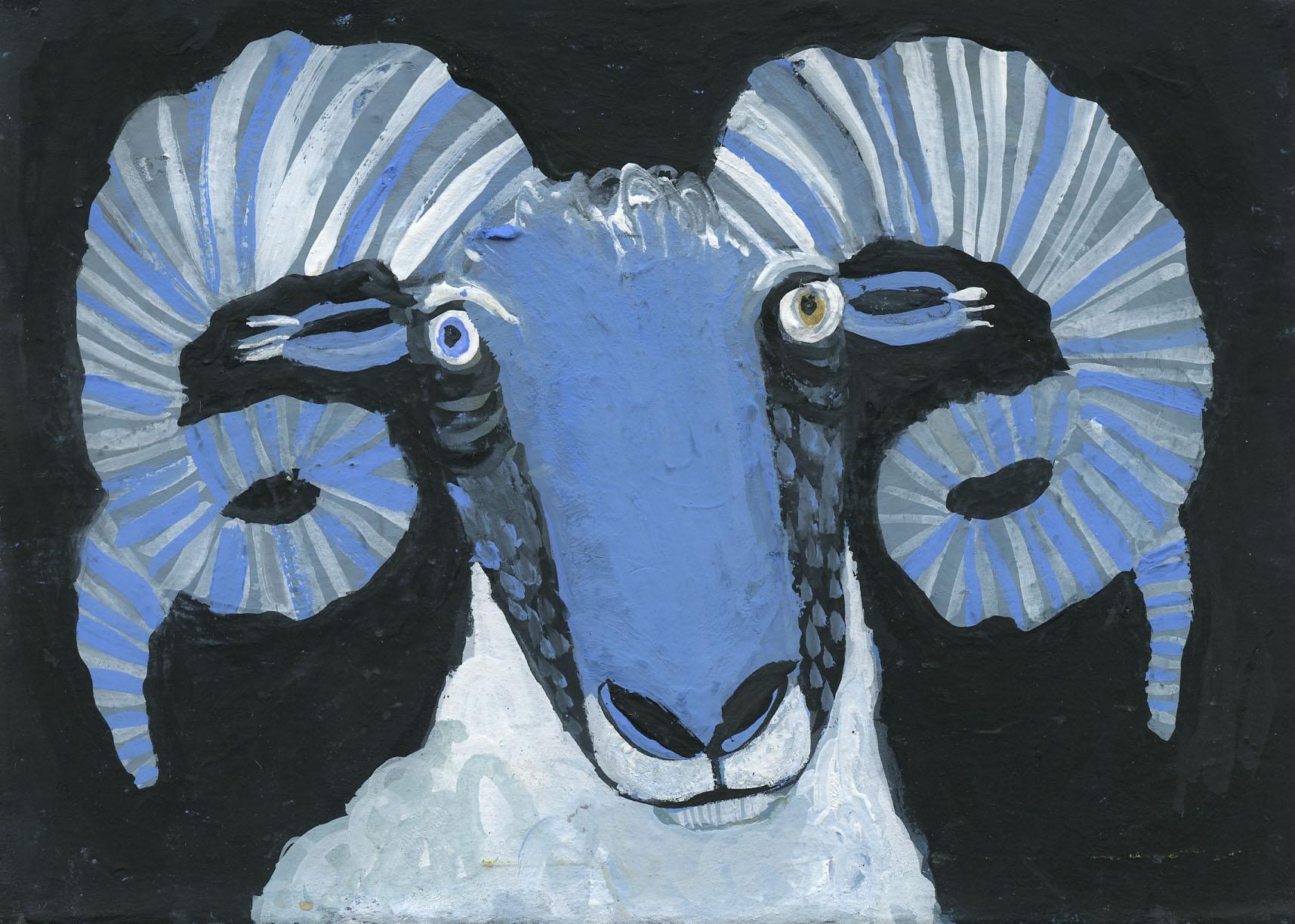 Sophie Wake - Mr. Blue Nose.jpg