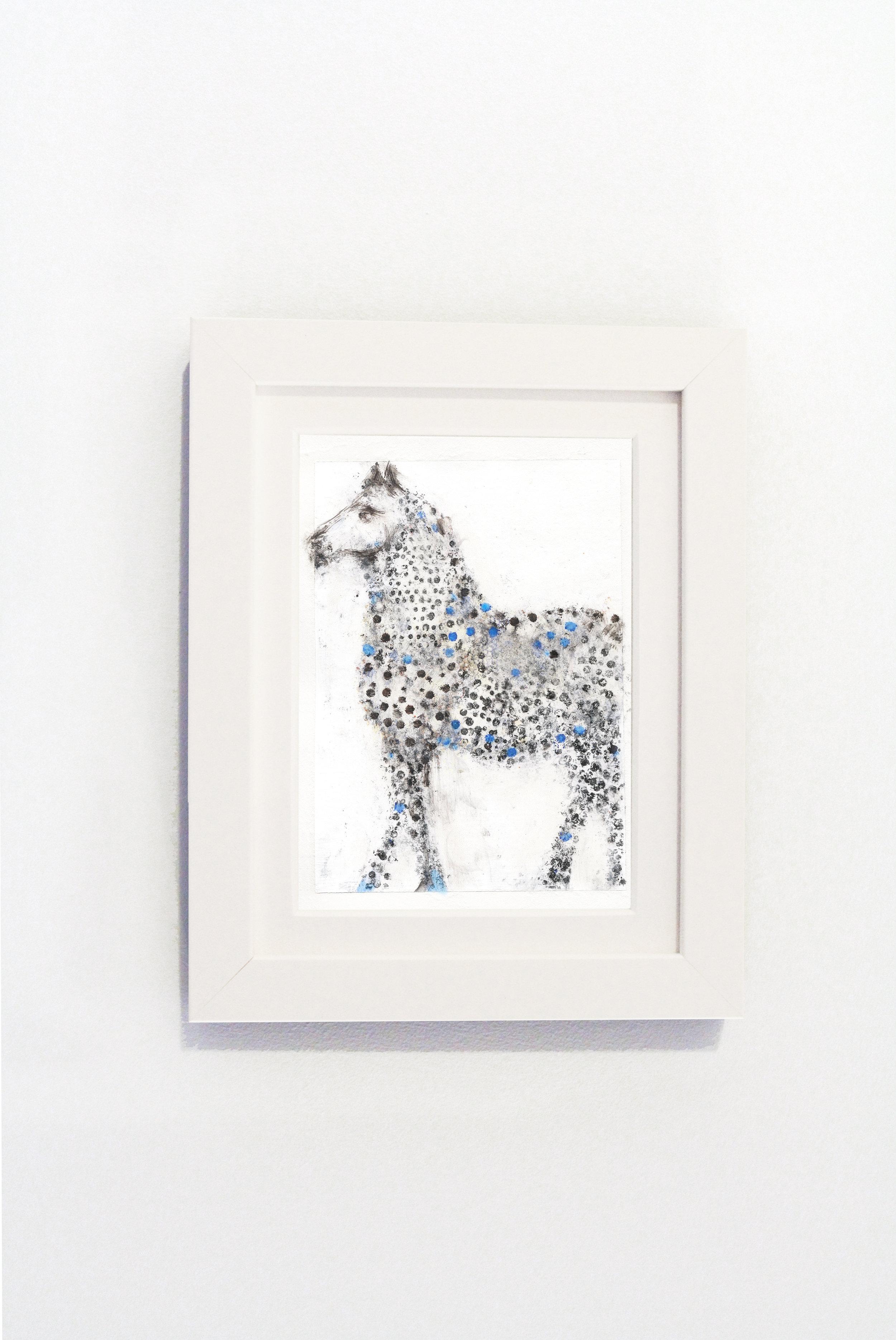 Dot Horse Blue White Frame.jpg