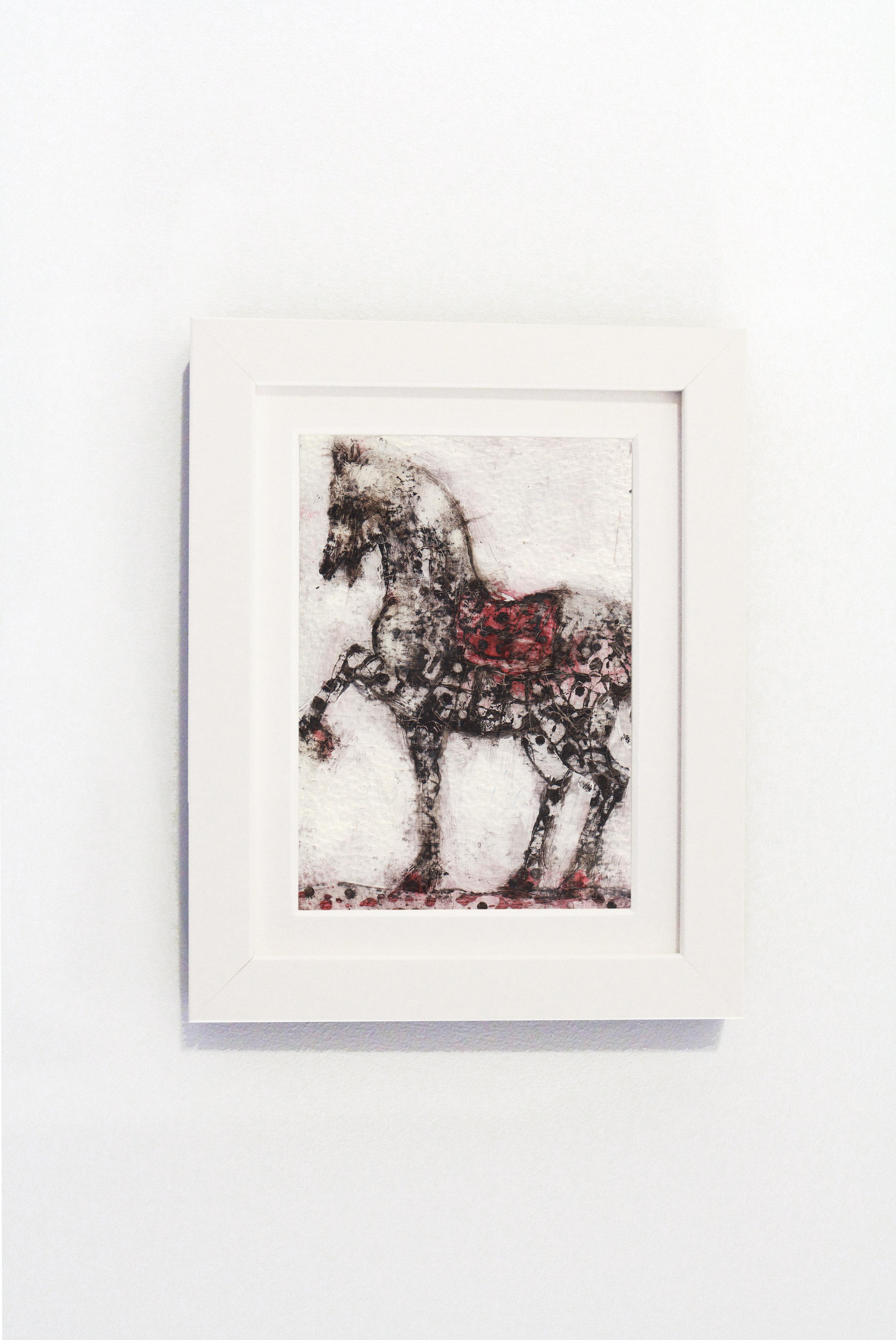 Standing Horse White Frame.jpg