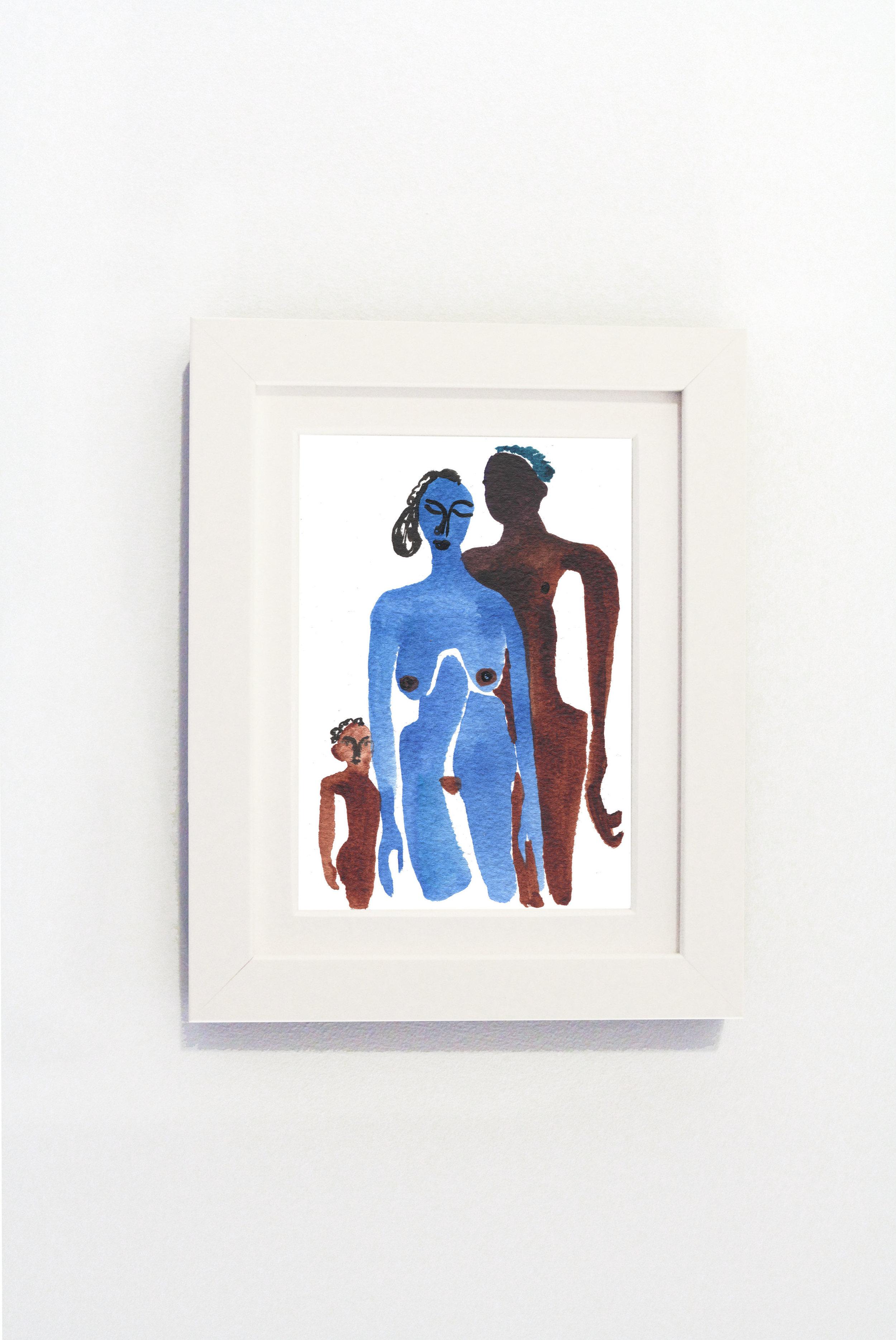 En Famille White Frame.jpg