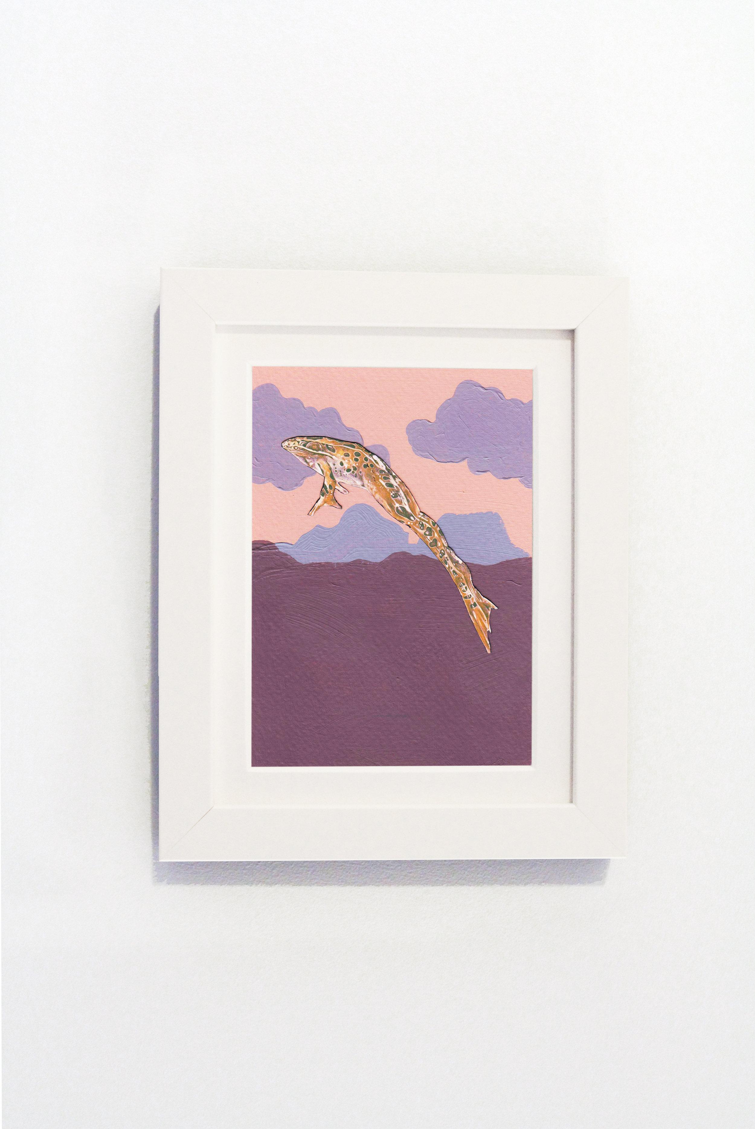 Sunset Frog White Frame.jpg