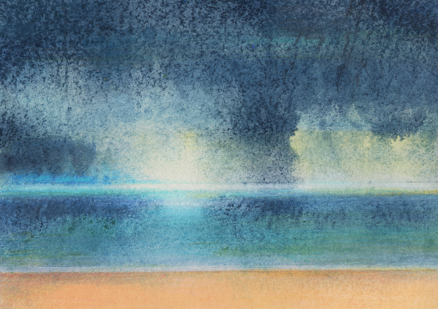 Janet Archer - Northumbrian Summer Day By The Sea.jpg