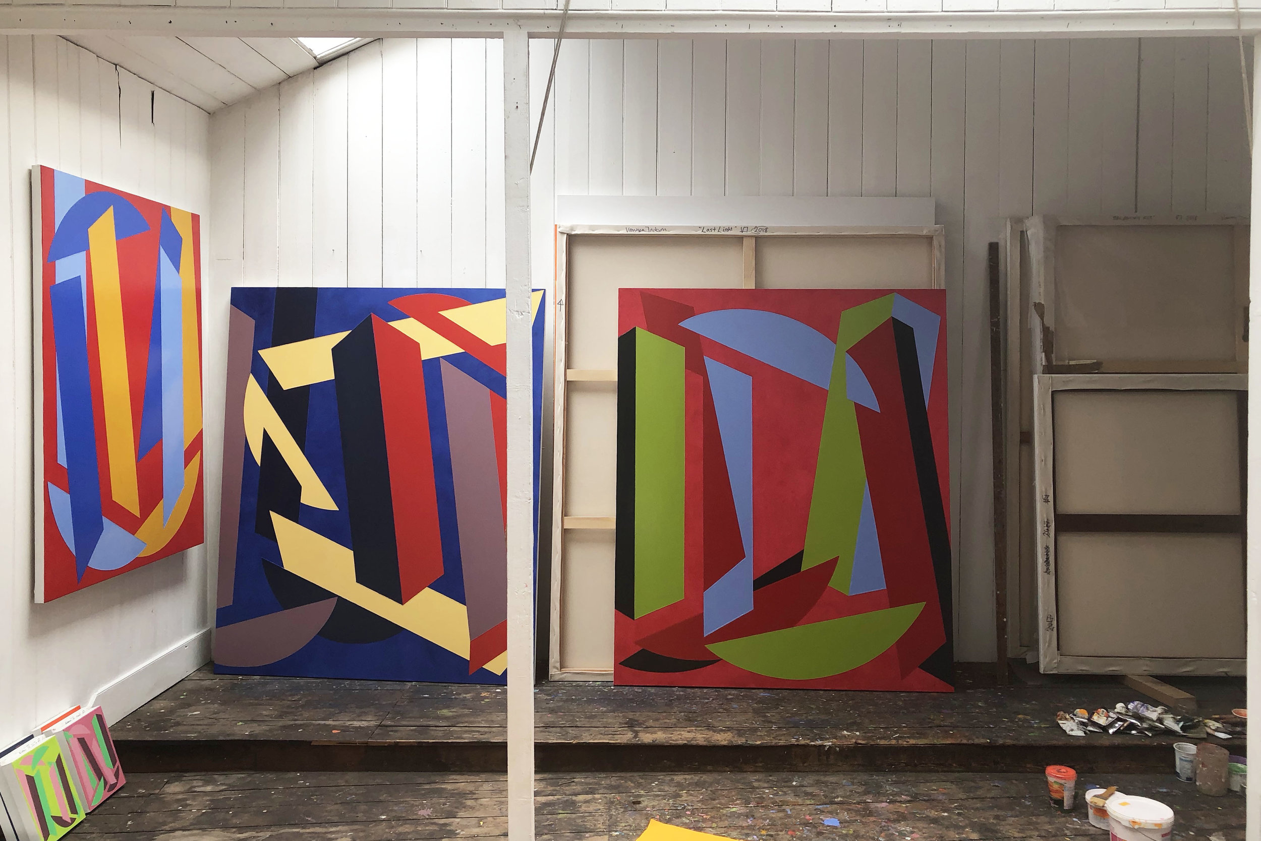 Vanessa Jackson RA's Studio