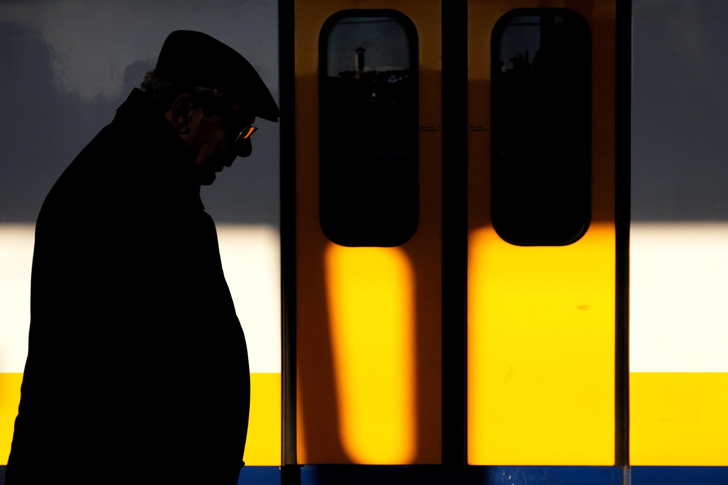 Lot 563 Golden Hour at Haarlem Station - Photograph