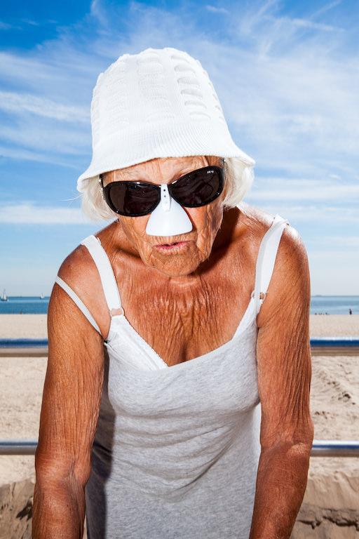 Lot 576 Beach Body Bingo - 92 Years Young - Photograph