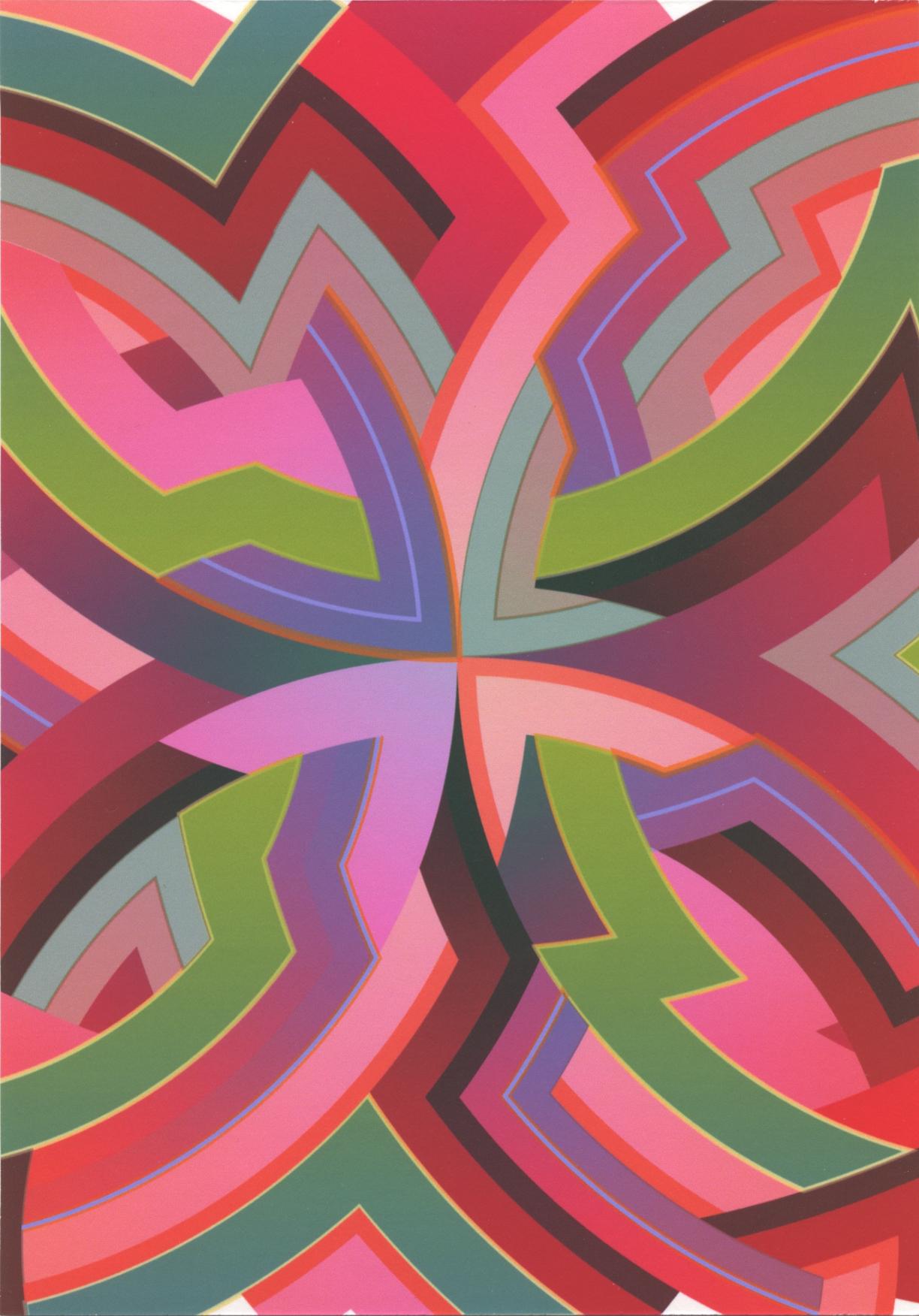 Lot 580 Interstella / WIP - Pigment Print on Card