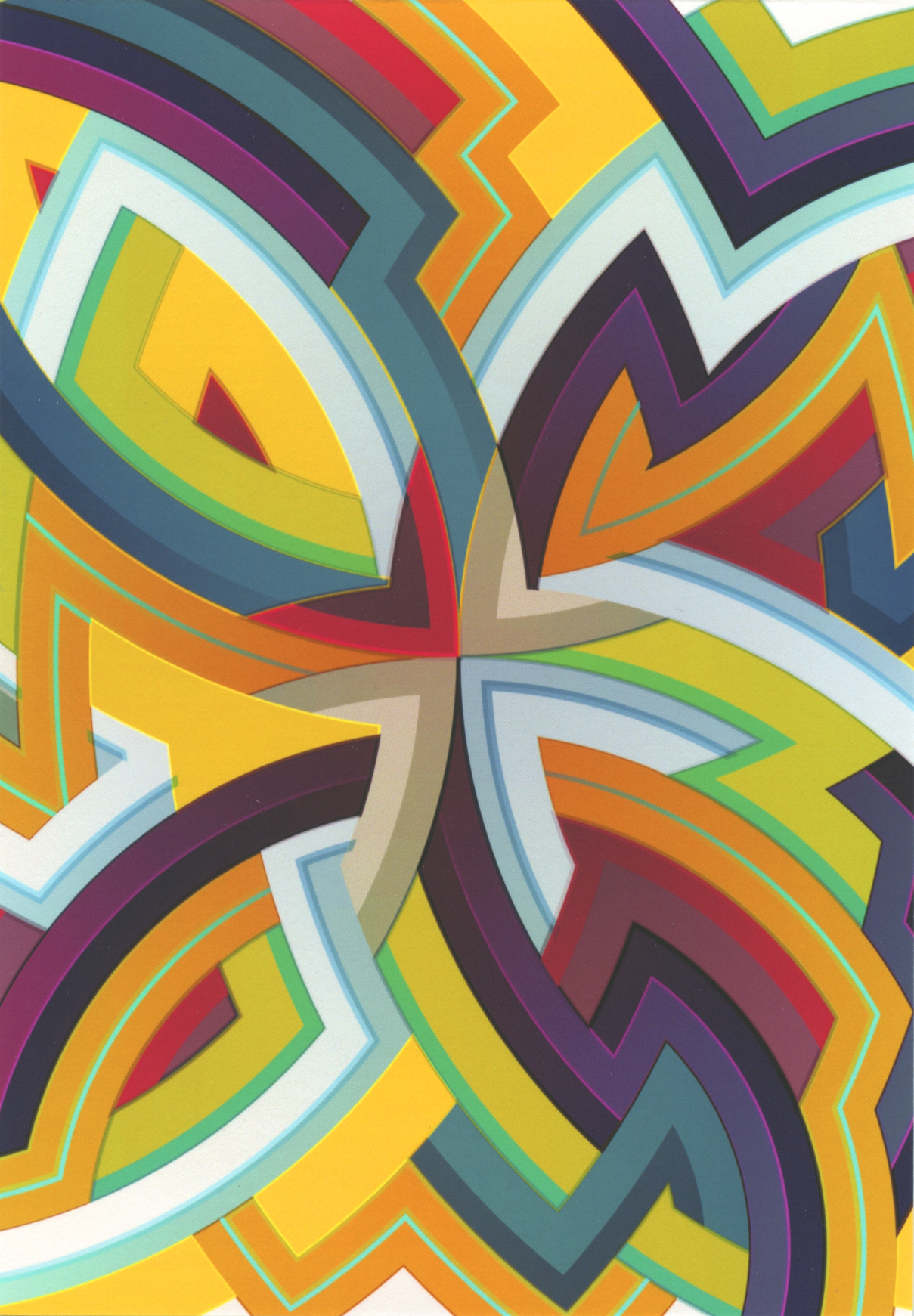 Lot 579 Interstella / WIP - Pigment Print on Card