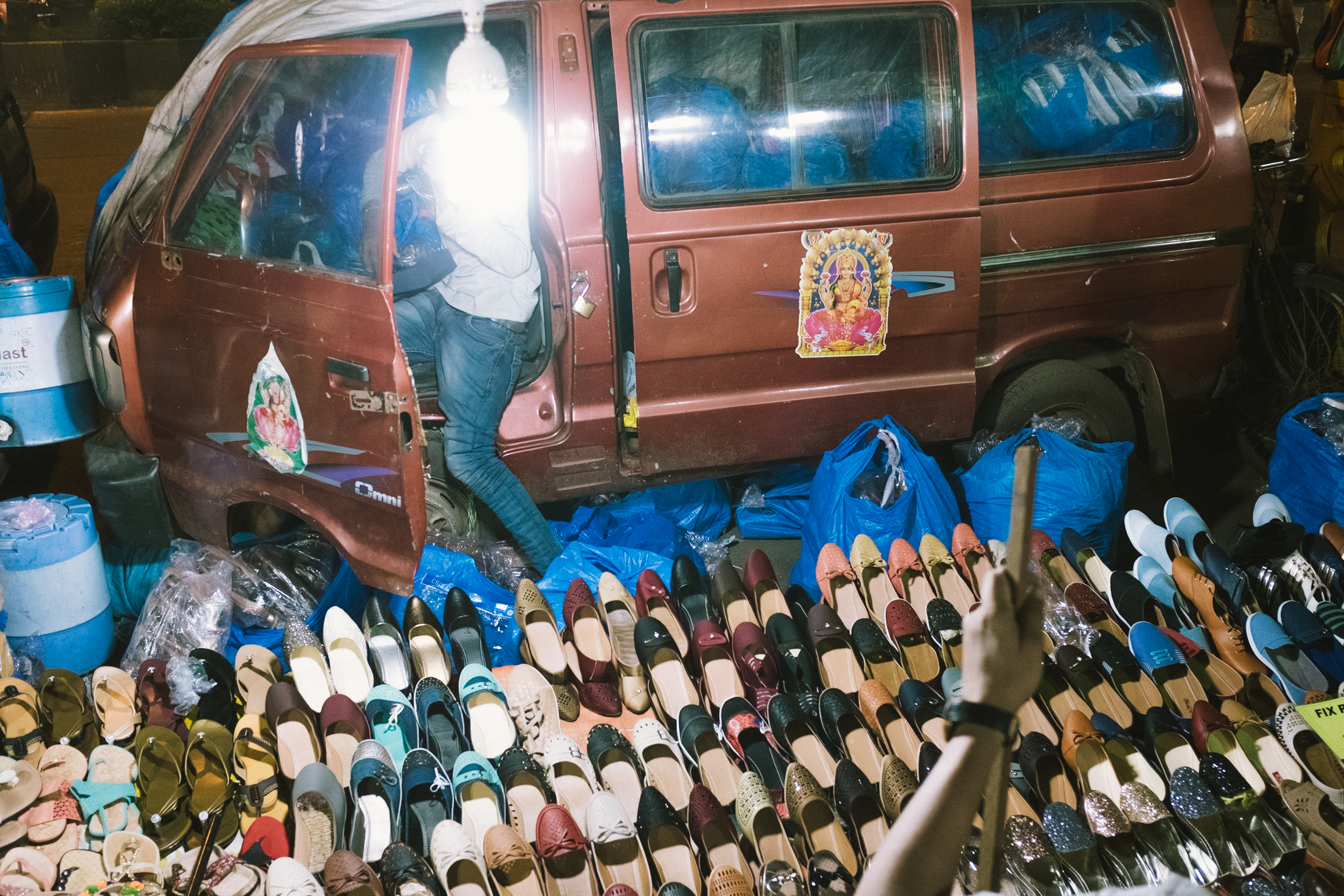 Lot 598 Shoes Attack - Photograph