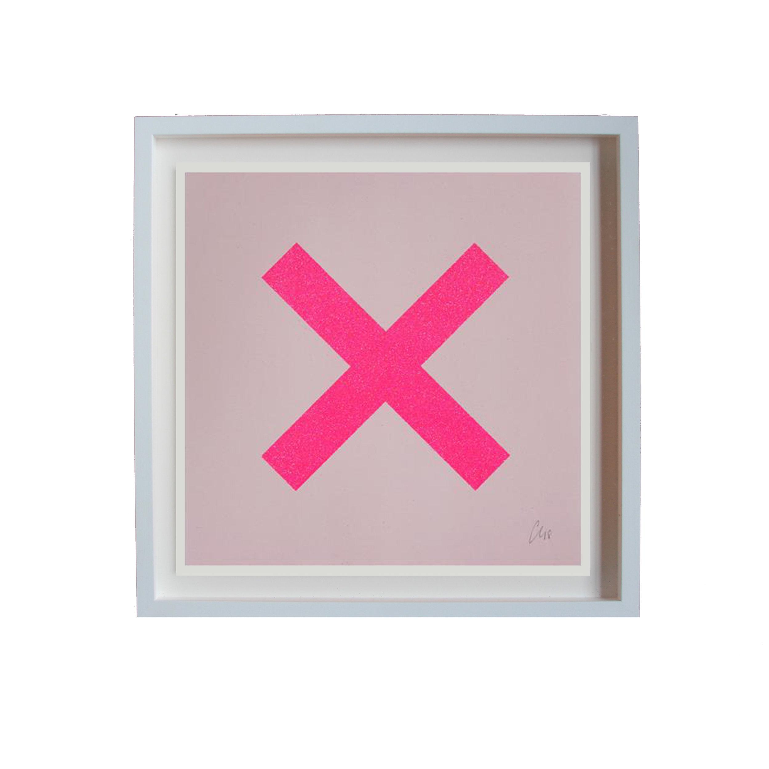 Chris Levine - X Marks the Spot (Pink)