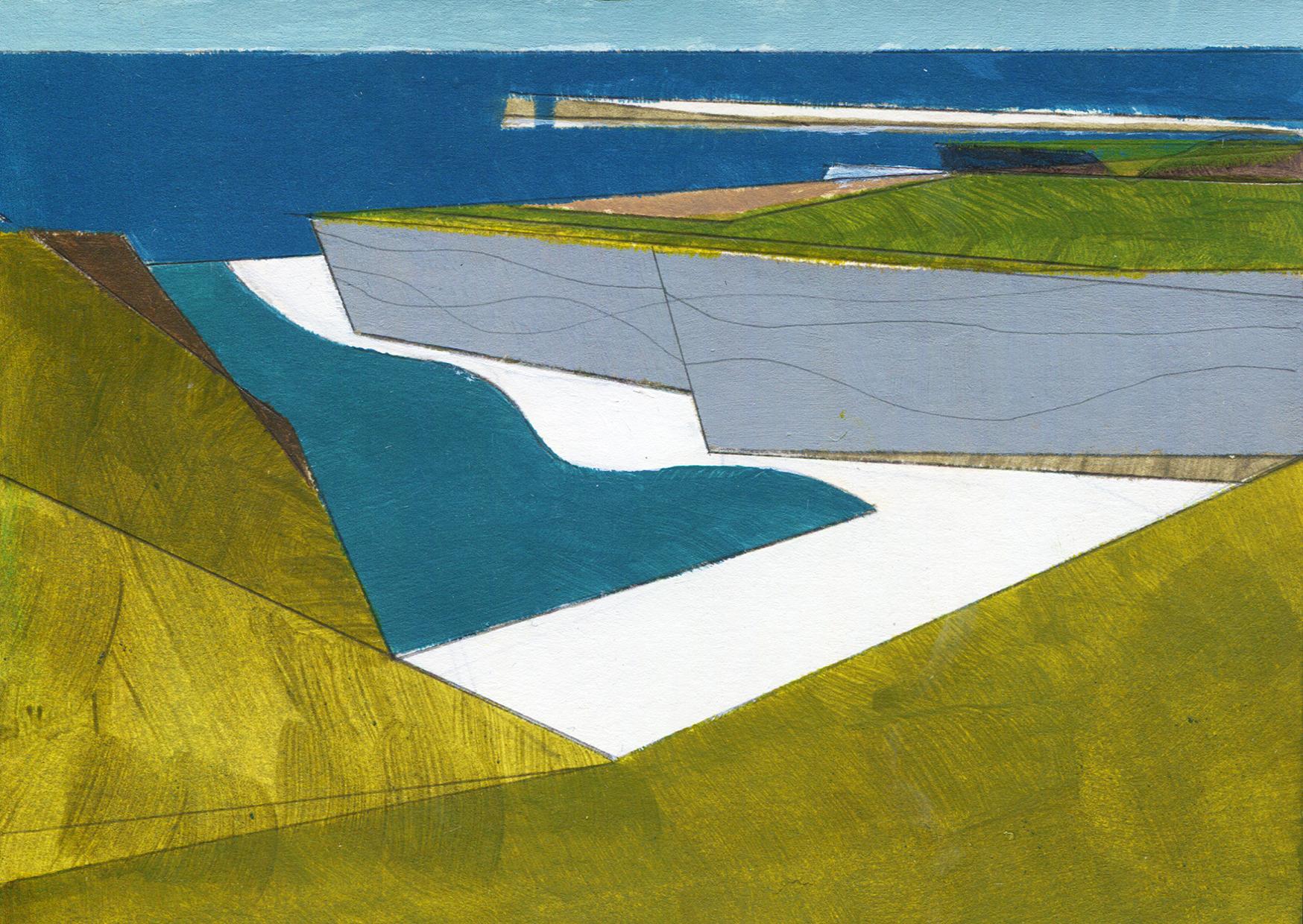 Wave Line (County Mayo) -    Fine Art Giclée print on Hahnemühle Photo Rag