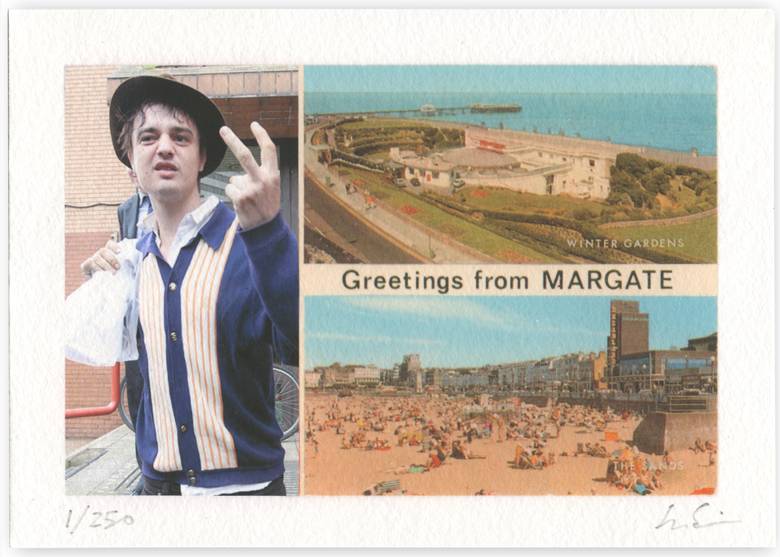 Greetings from Margate  by James Springall   Fine Art Giclée print on Hahnemühle Pearl  Limited Edition of 250