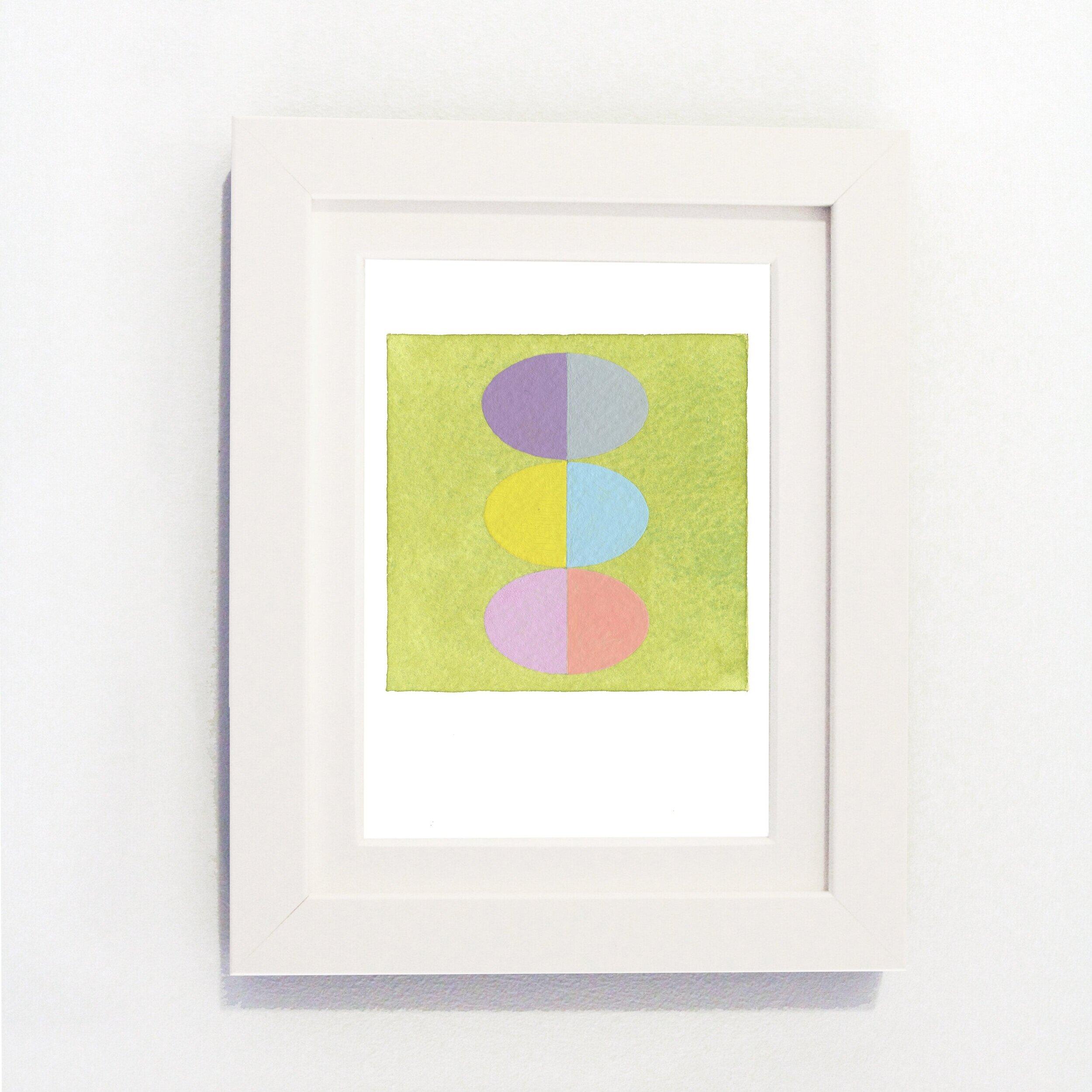 "Carol Robertson -  Alayrac Ellipses #II    Fine Art Giclée print on Hahnemühle German Etching  107mm x 152mm / 4"" x 6""  Limited Edition of 100"