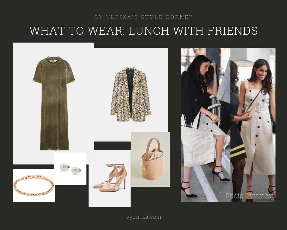 Photos: H&M (dress), Zara (heels and blazer), Mango (bag), Swarovski