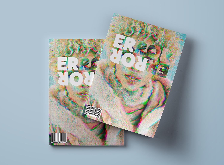 ERROR - Design av magasin som visuelt forteller om skjulte sykdommer