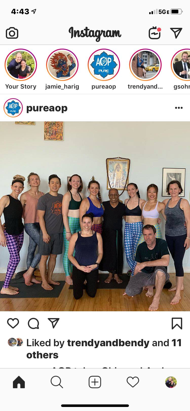 Ashtanga Yoga as a Therapeutic & Life-long Journey with Manju Jois and members of AOP at Chicago Yoga Center, in June 2019.