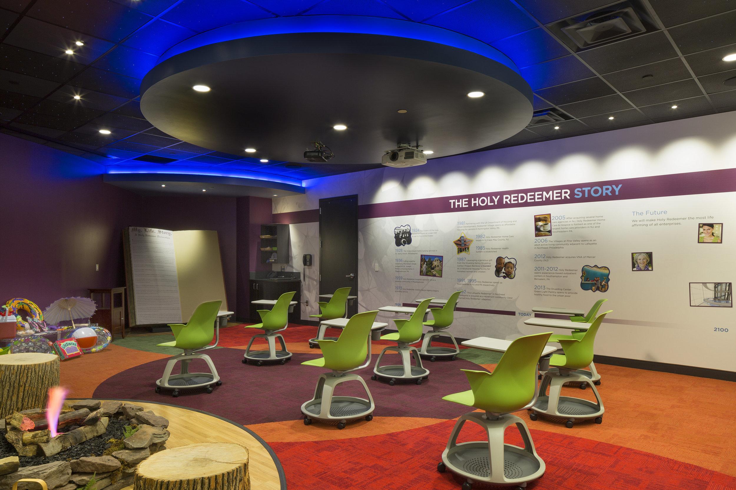 Holy Redeemer Experience Center- Theater.jpg