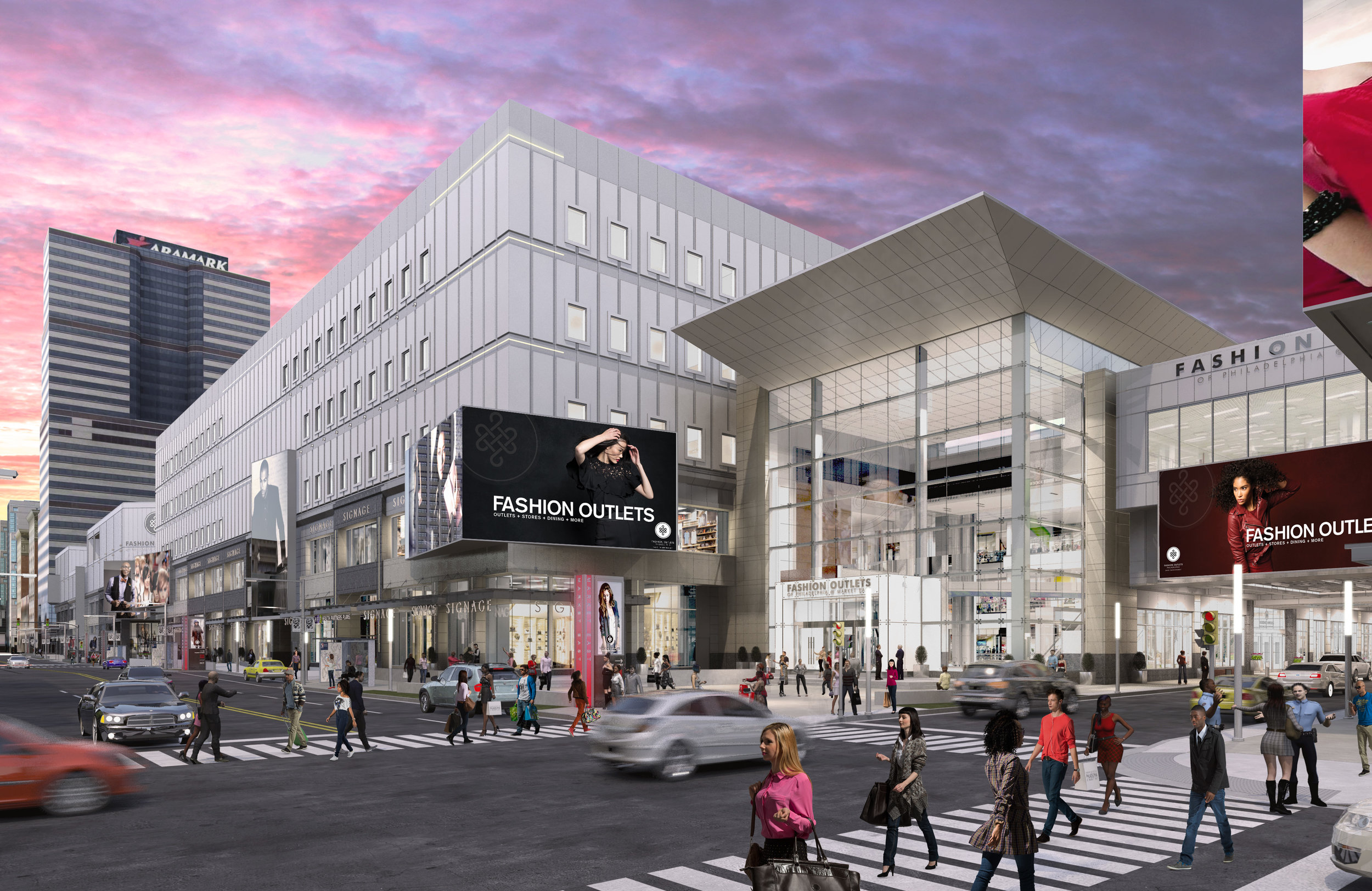 Fashion District of Philadelphia - Redevelopment
