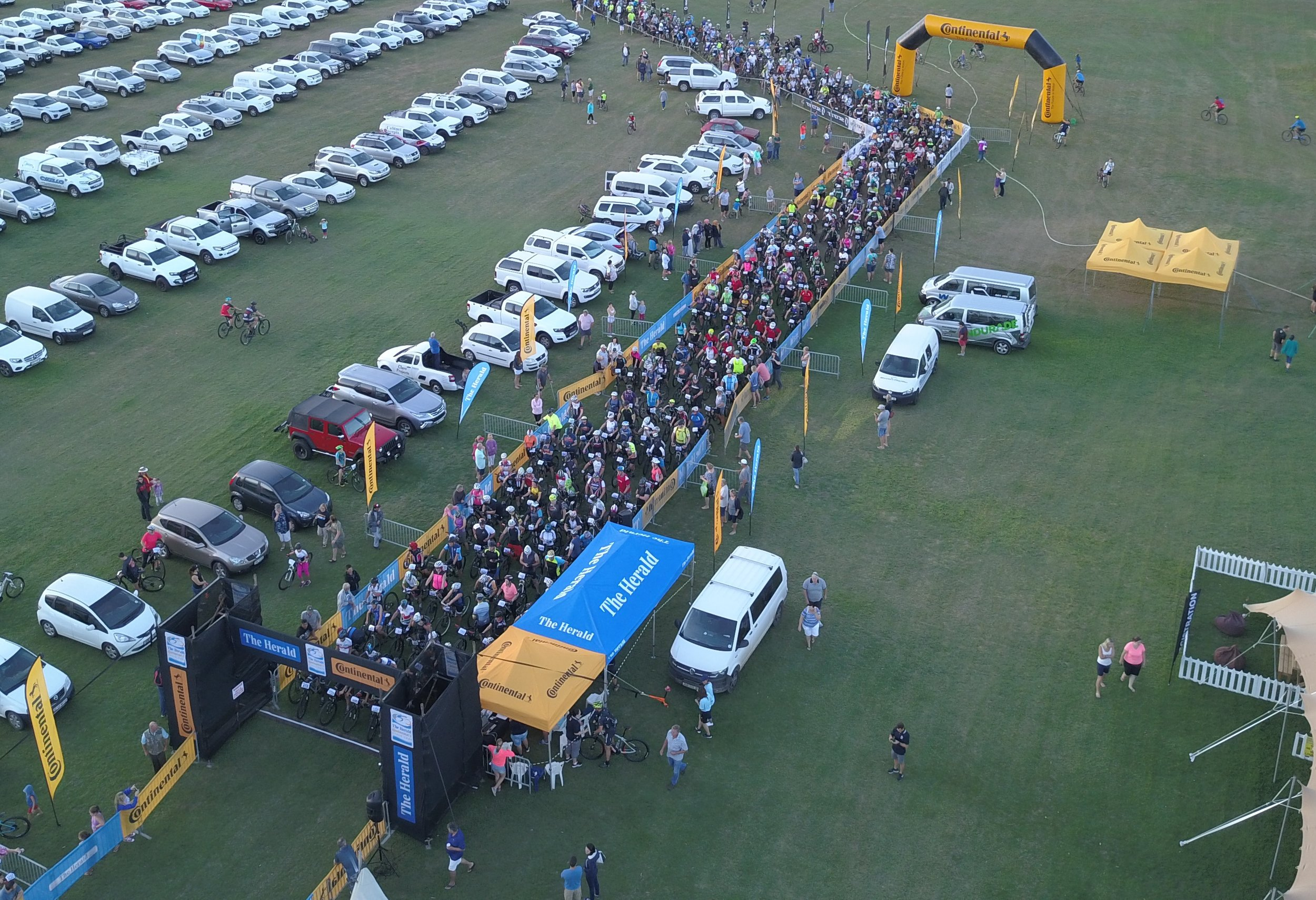 PARK & RIDE: Cyclists can once again look forward to first-class rider and spectator experience at next year's Herald Continental MTB race, to be hosed at the Addo Polo Club.