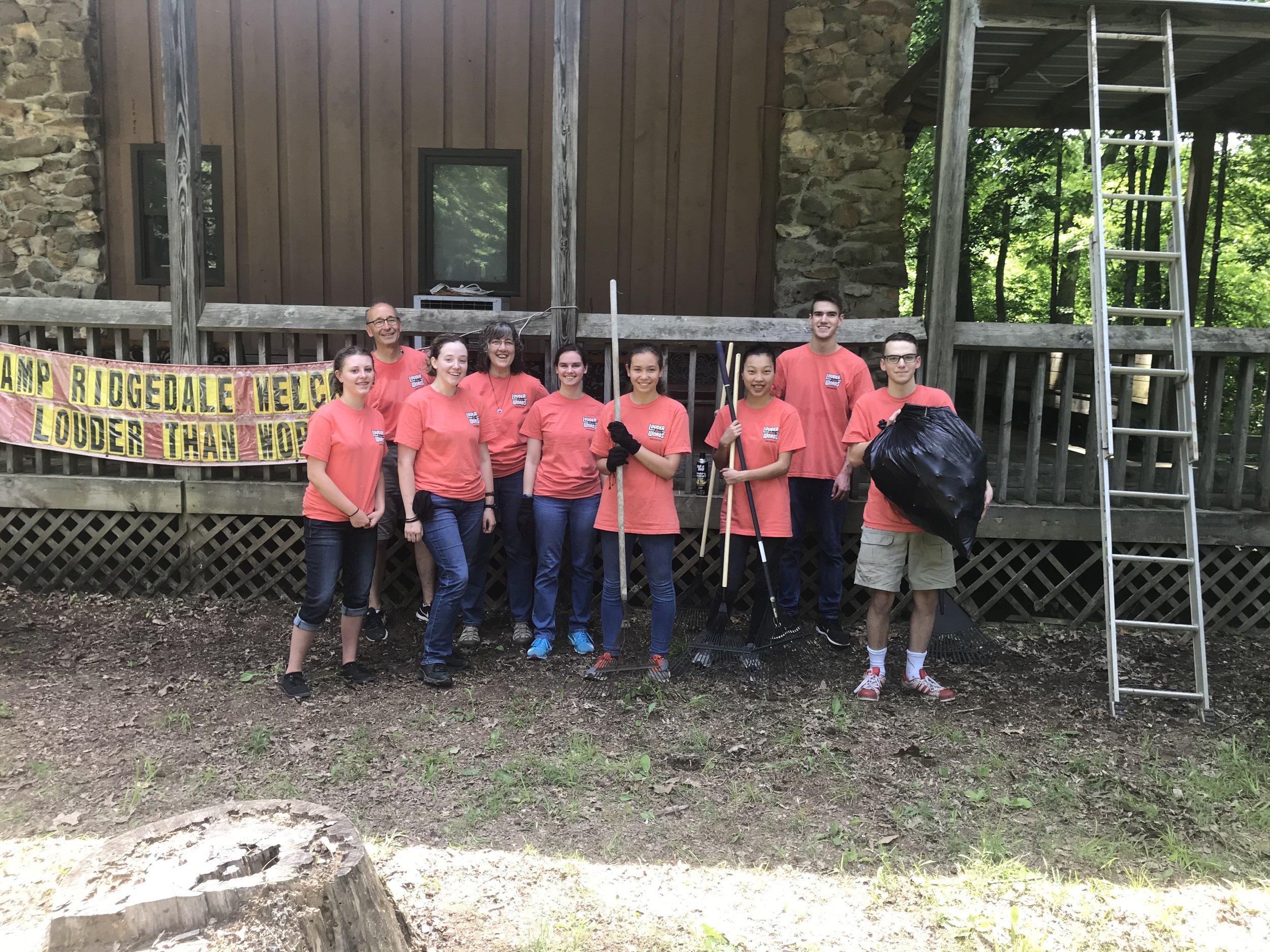 Camp ridgedale, tn; xpression 2019