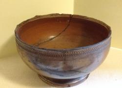 Image of a seventeenth-century ceramic bowl