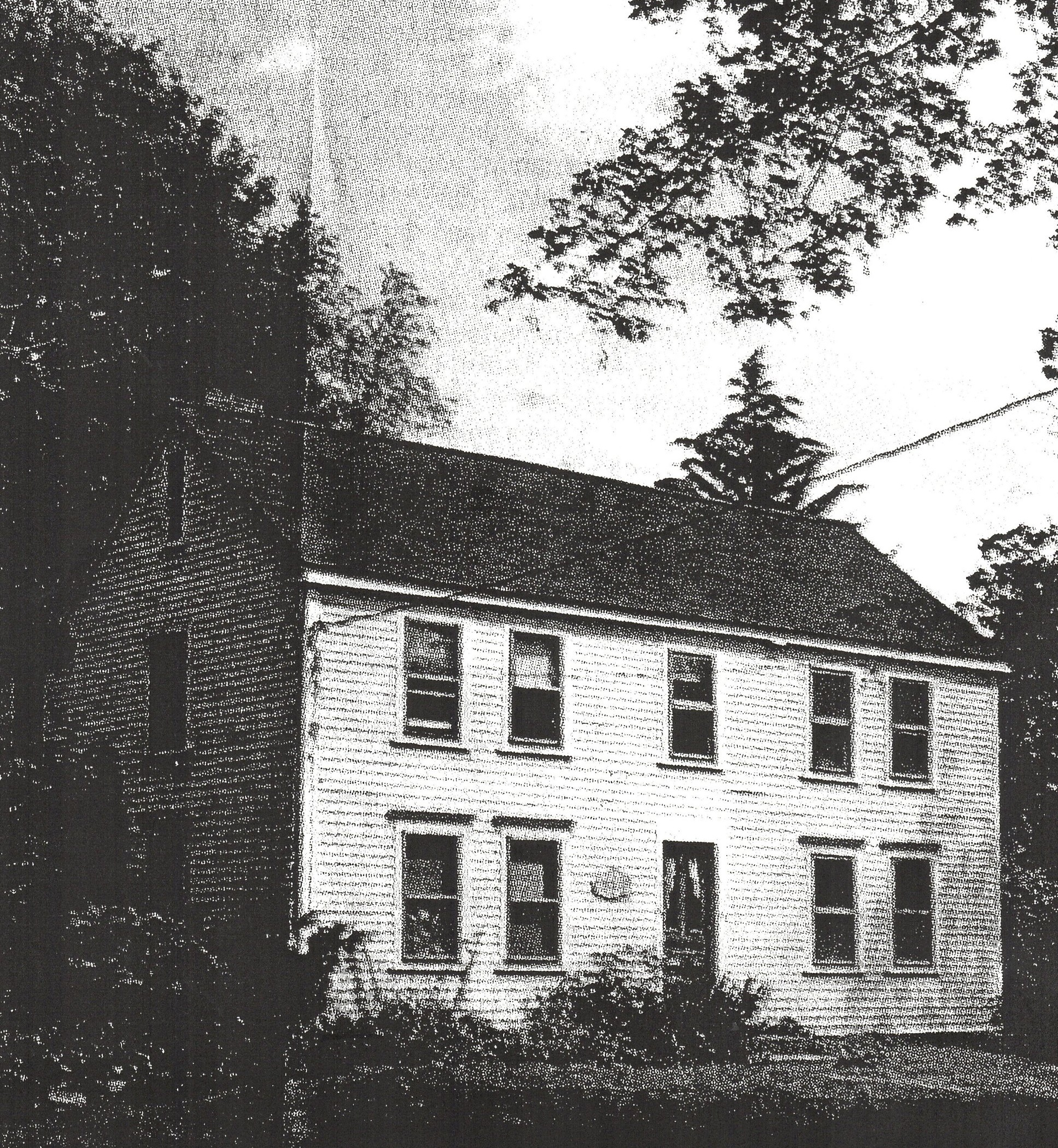 The 1748 Peletiah Morse tavern on Eliot Street in South Natick