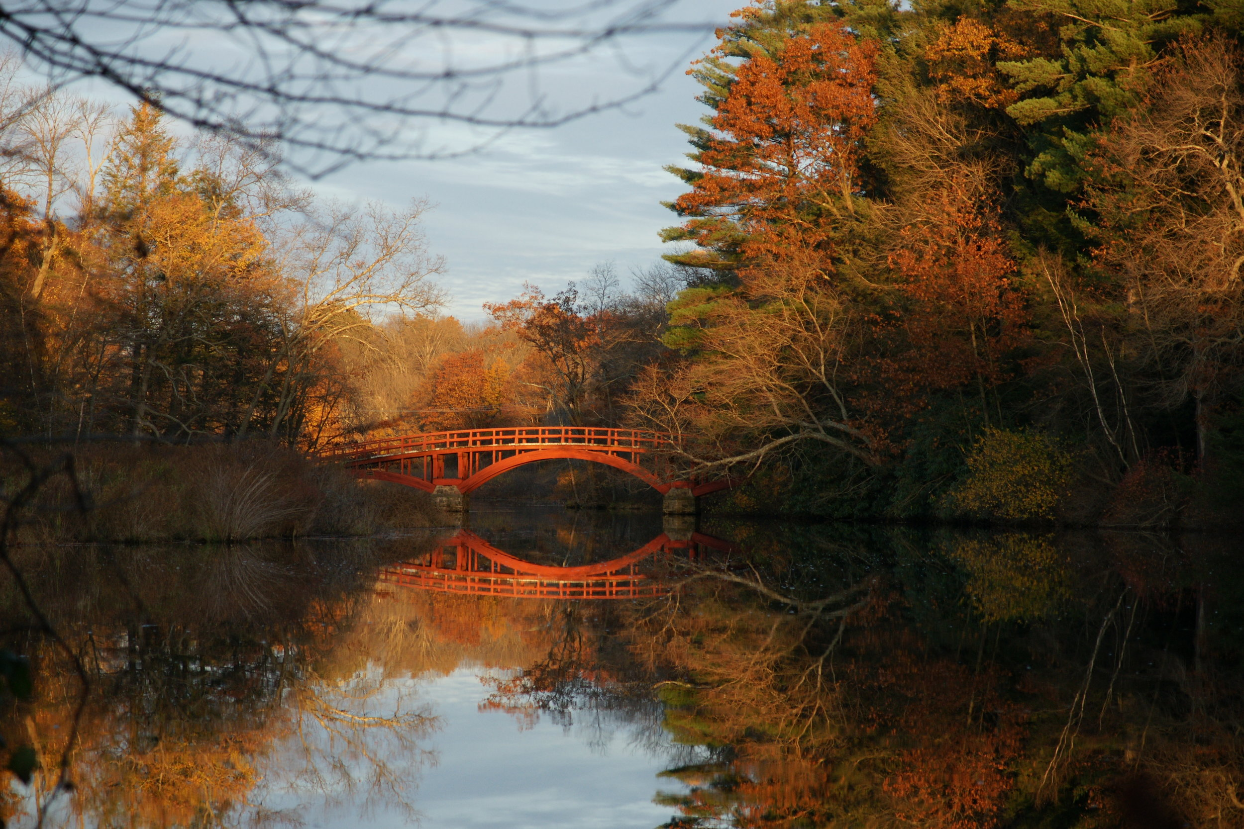 Red Bridge on Charles River in Natick [Photo credit: Kelli Connelly]