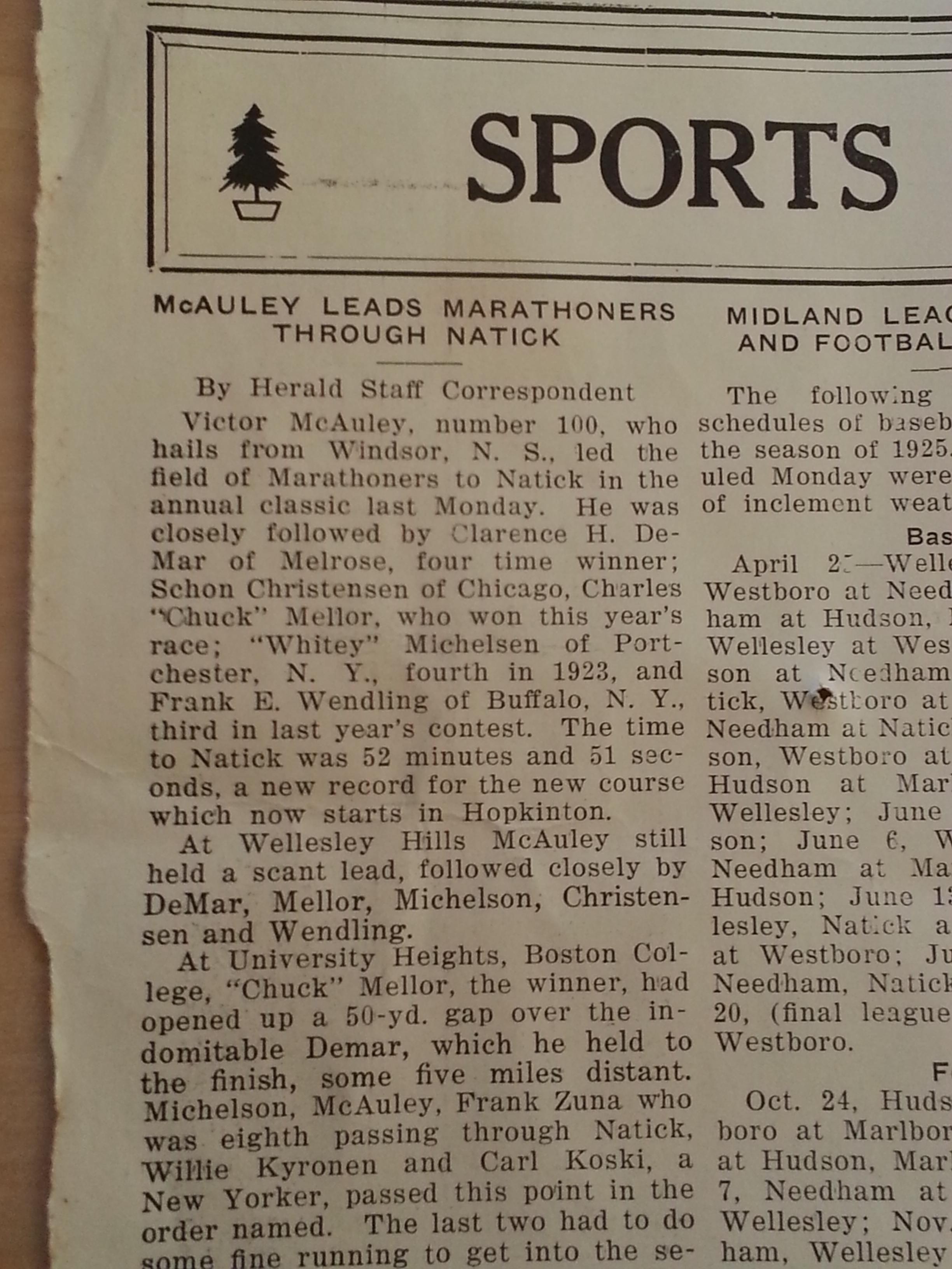 The Natick Herald , April 23, 1925