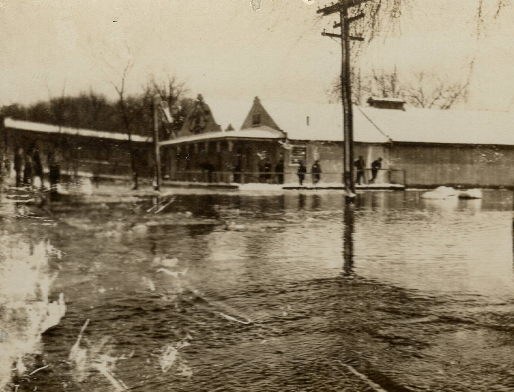 Charles River flood damage at Riverside Ballroom