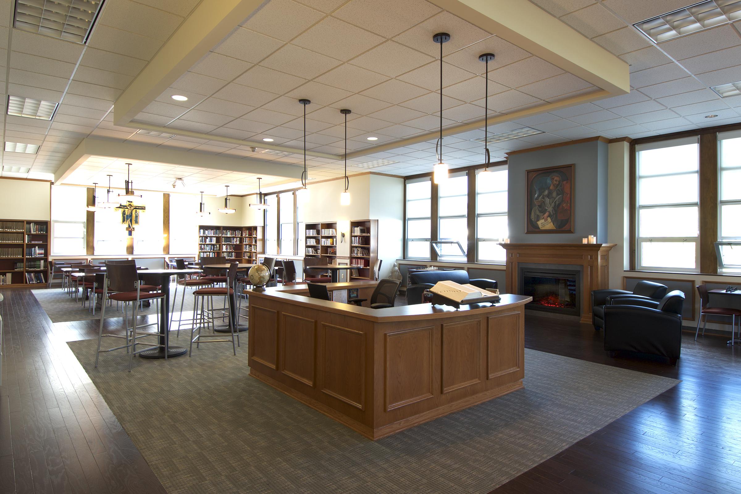 ST. FRANCIS HIGH SCHOOL LIBRARY - ATHOL SPRINGS, NEW YORK