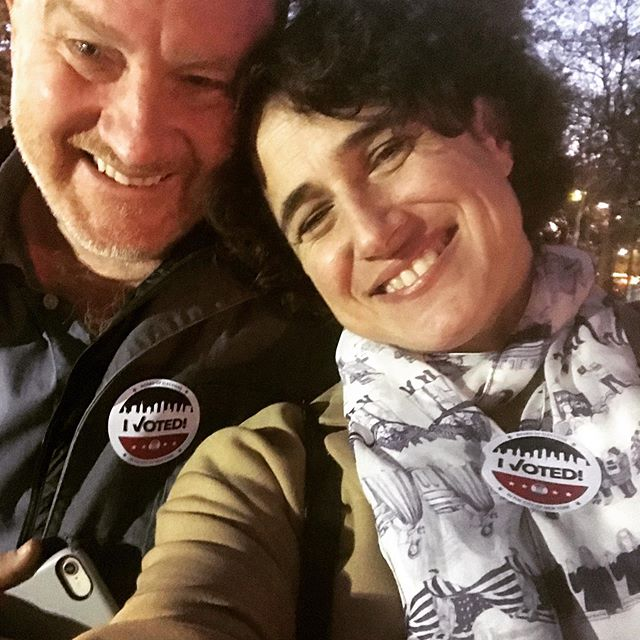 Way to go voters, campaigners, activists everywhere - we made a difference.  #forfreedomscarf #virginiaisforlovers #brooklynvoters
