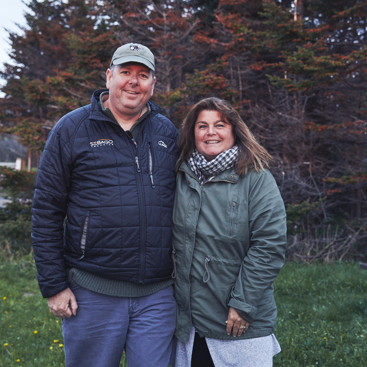 Candy & Matt - Gros Morne Nationalpark - campsite no. 5 (neighbours)You made our day! We are so excited to see your Maine… and Steven. ;-) Thank you so very much for the wonderful time we've spent and the precious list. See you soon in Portland.