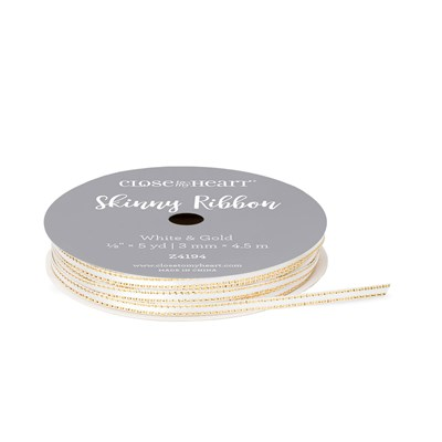 White and Gold Skinny Ribbon.jpg