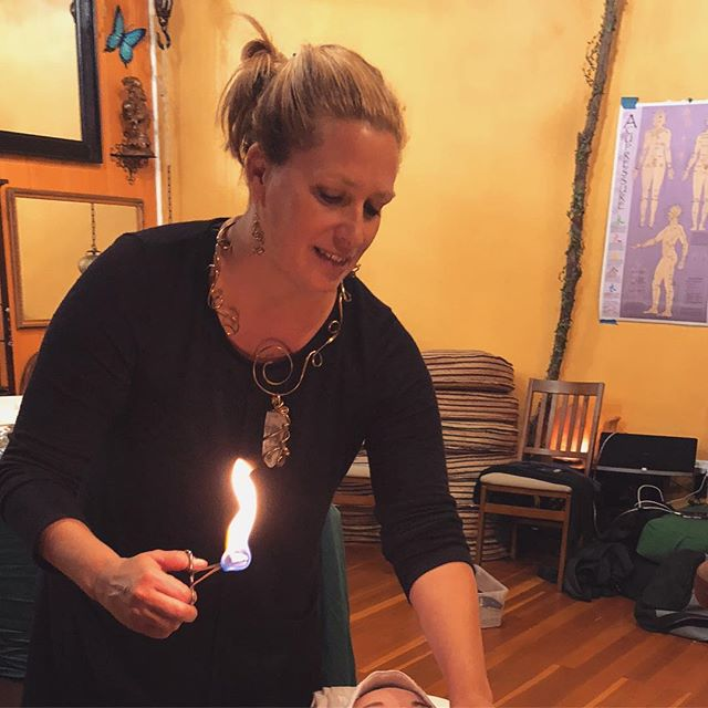 "Cupping Level I meets March 28-30! Students will learn and practice moxa, gua sha and cupping in this level. Here are a few things students have taken home after class: • ""So much knowledge and respect for this practice. A shift in perspective of how to give bodywork / gratitude."" • ""Knowledge, a mentor, friends."" • ""More confidence with fire and understanding of theories of cupping techniques."" • To register, visit our website, link in bio"