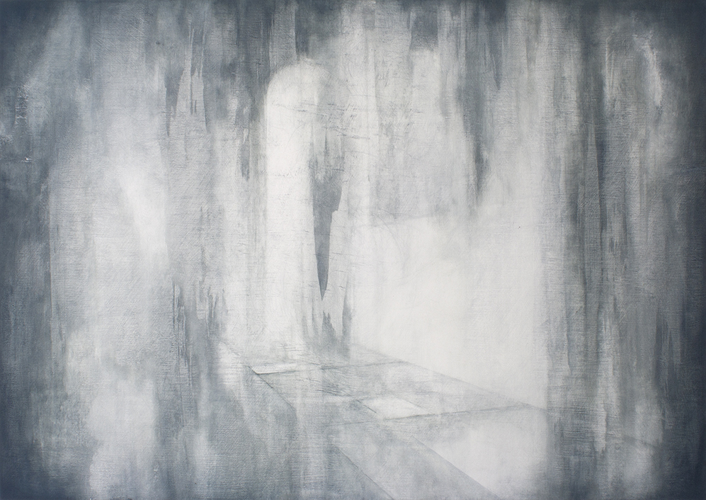 Remains With Me  87 x 61cm  Oil on Board