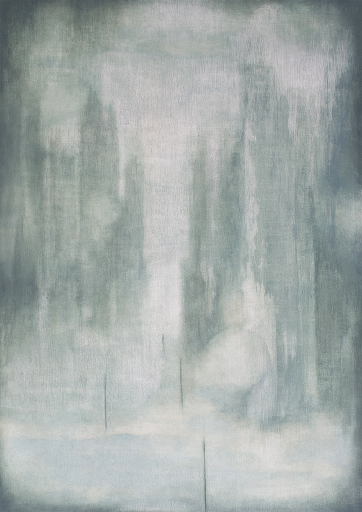 When the Dust Settles  61 x 87cm  Oil on Board