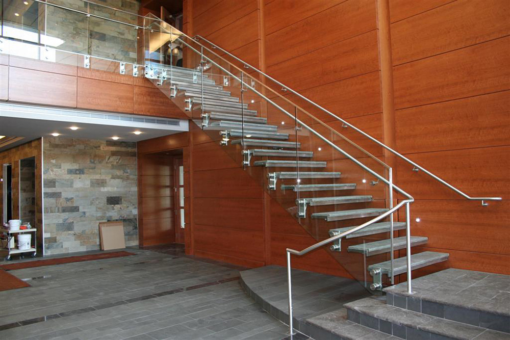 Custom Floating Staircase